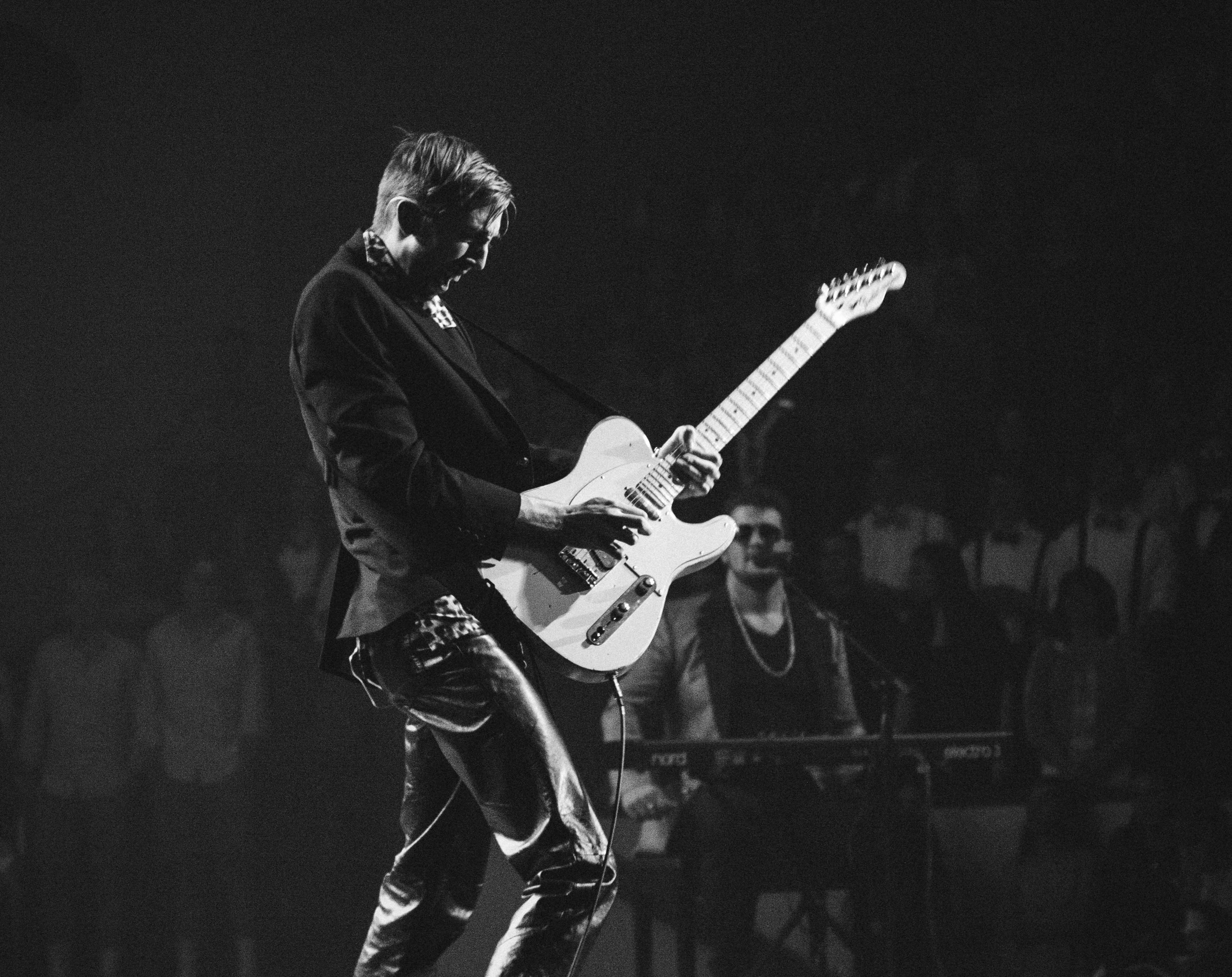 telecaster, on stage