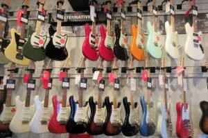 エレキギターのモデル11種類を解説つきで紹介